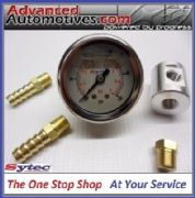 Fuel Pressure Test Gauge Inline Adaptor With 10mm Hose Unions High Pressure